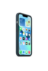 Apple Apple IPhone 13 Mini Silicone Case with MagSafe - Abyss Blue