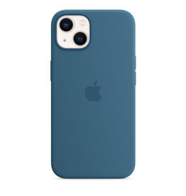 Apple Apple IPhone 13 Mini Silicone Case with MagSafe - Blue Jay