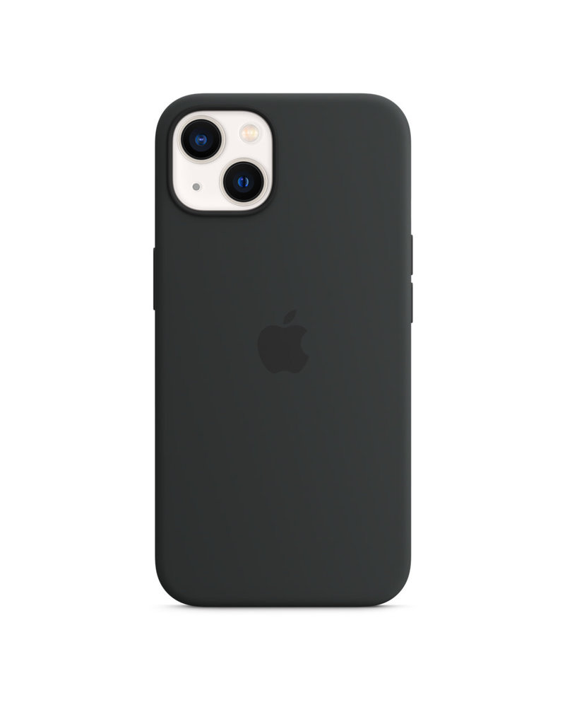 Apple Apple IPhone 13 Mini Silicone Case with MagSafe - Midnight