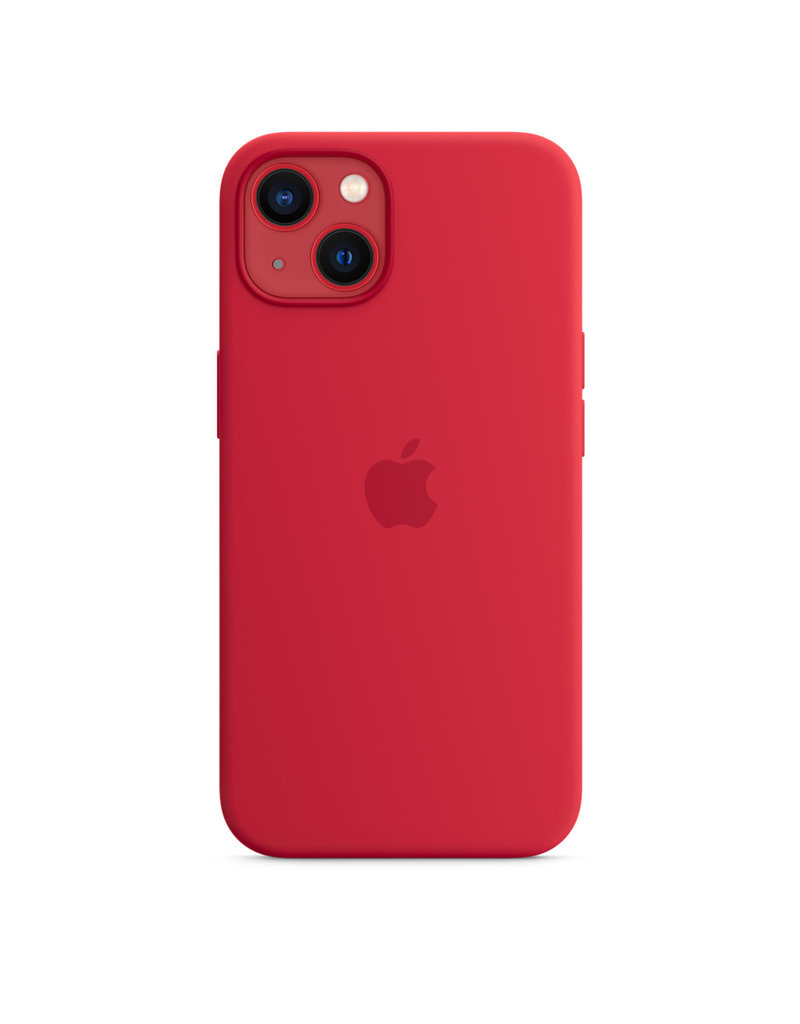 Apple Apple IPhone 13 Mini Silicone Case with MagSafe - Product Red