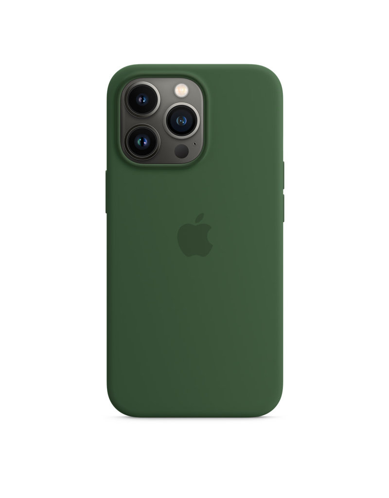 Apple Apple IPhone 13 Pro Max Silicone Case with MagSafe - Clover