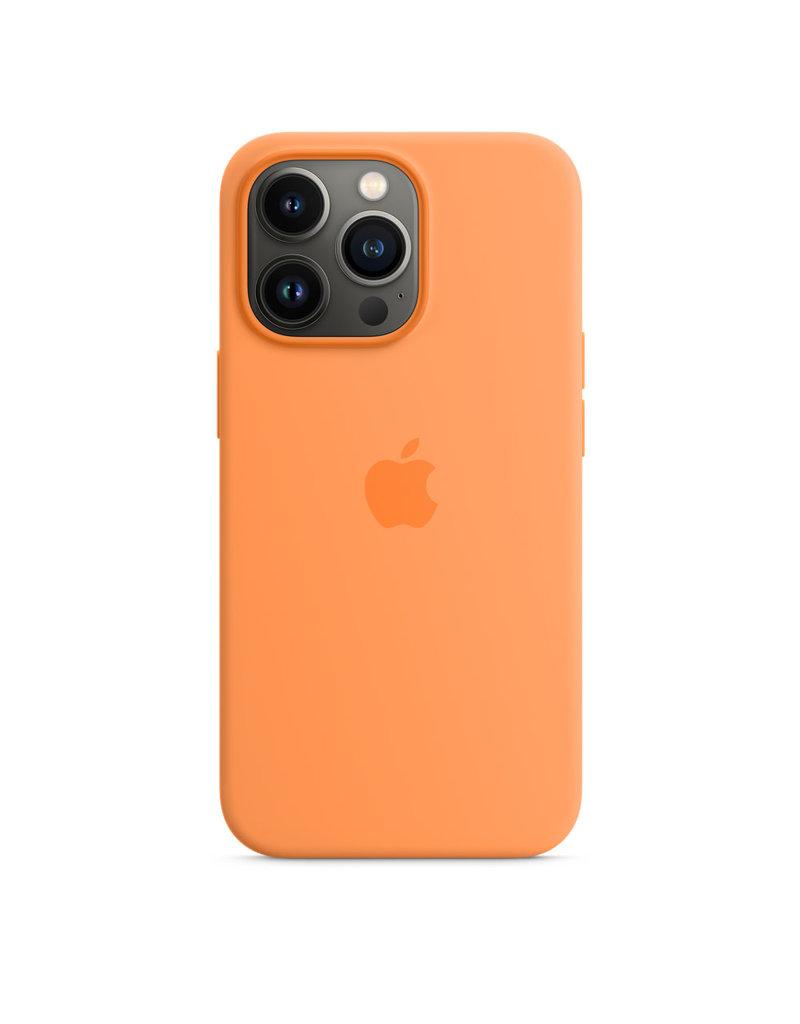 Apple Apple IPhone 13 Pro Max Silicone Case with MagSafe - Marigold