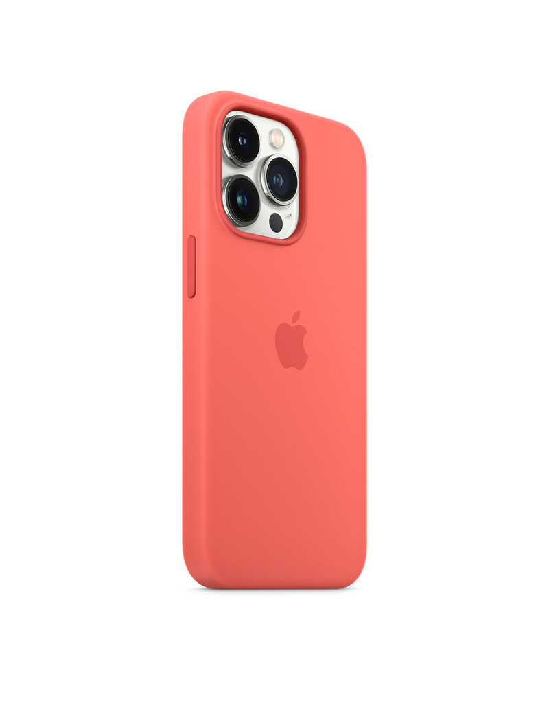 Apple Apple IPhone 13 Pro Max Silicone Case with MagSafe - Pink Pomelo