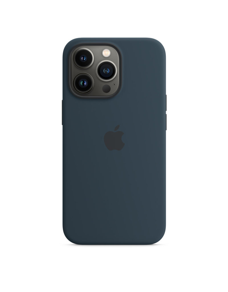 Apple Apple IPhone 13 Pro Silicone Case with MagSafe - Abyss Blue