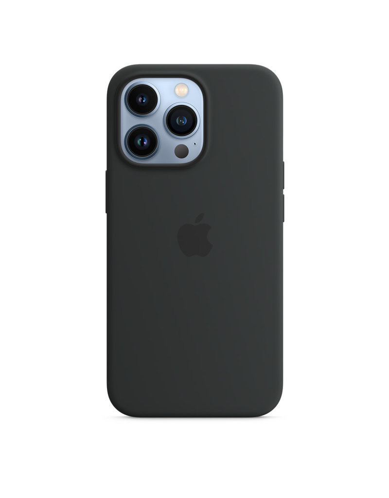 Apple Apple IPhone 13 Pro Silicone Case with MagSafe - Midnight