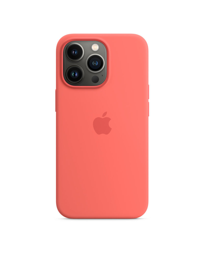 Apple Apple IPhone 13 Pro Silicone Case with MagSafe - Pink Pomelo