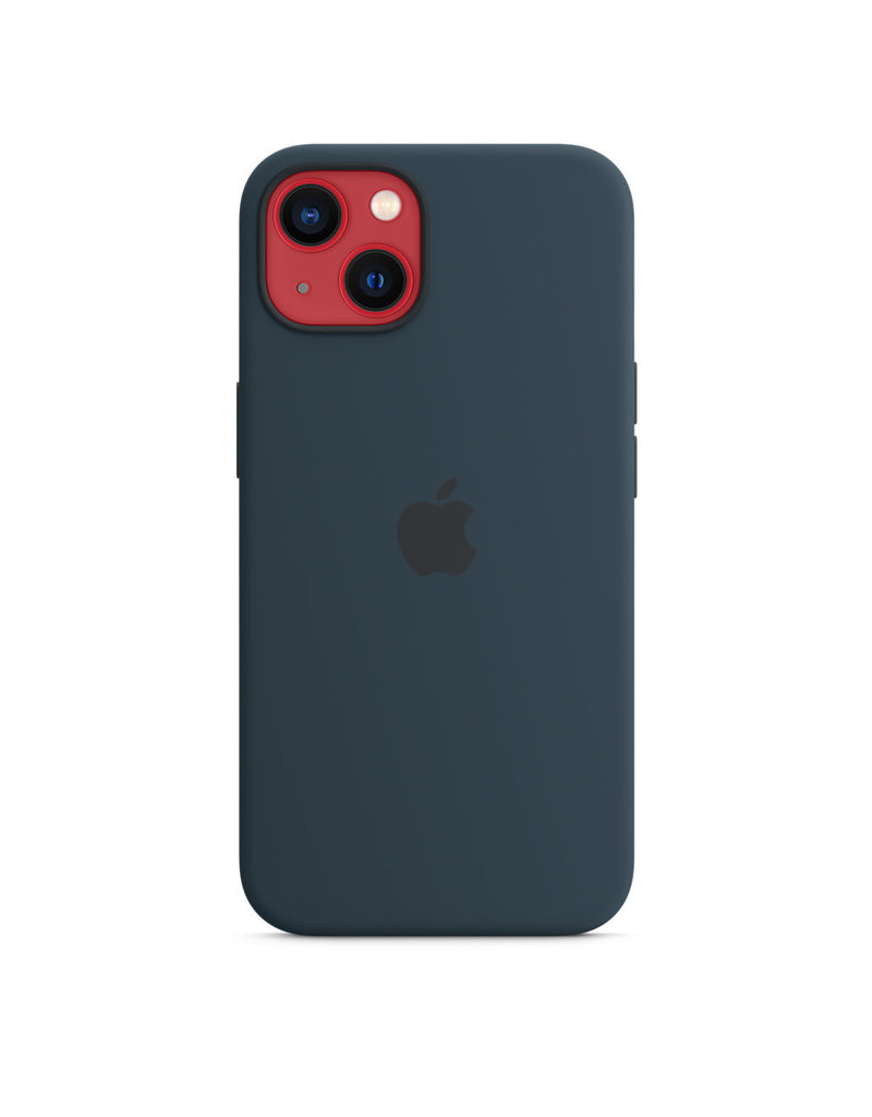 Apple Apple IPhone 13 Silicone Case with MagSafe - Abyss Blue