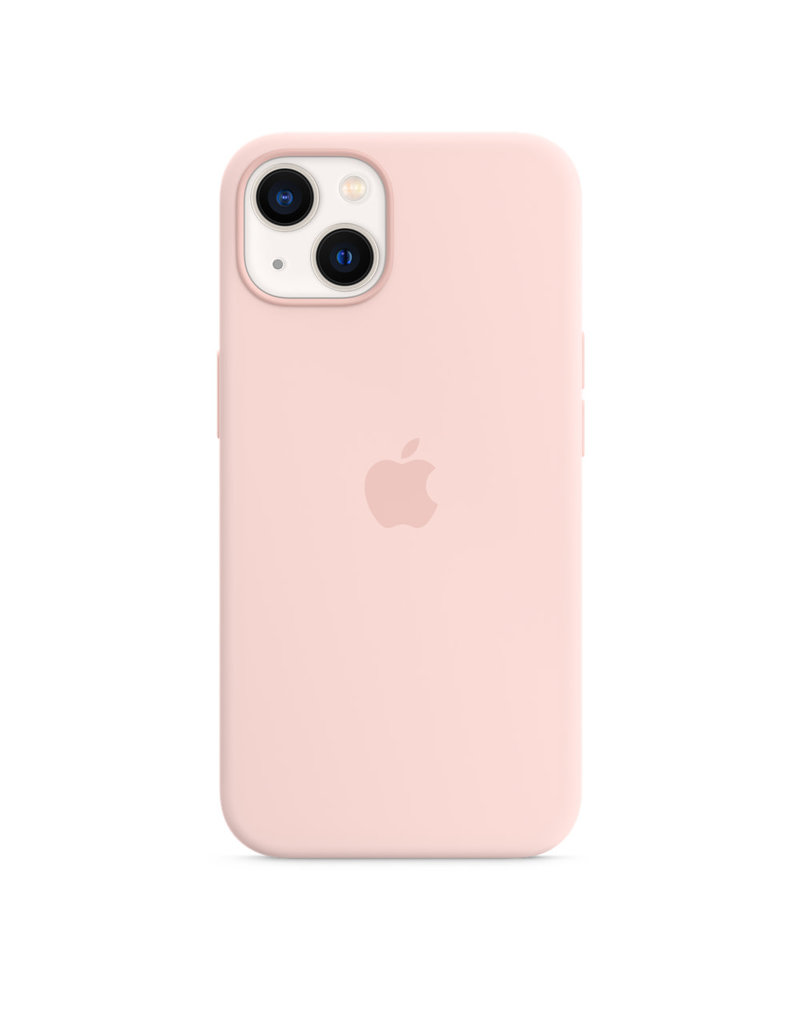 Apple Apple IPhone 13 Silicone Case with MagSafe - Chalk Pink