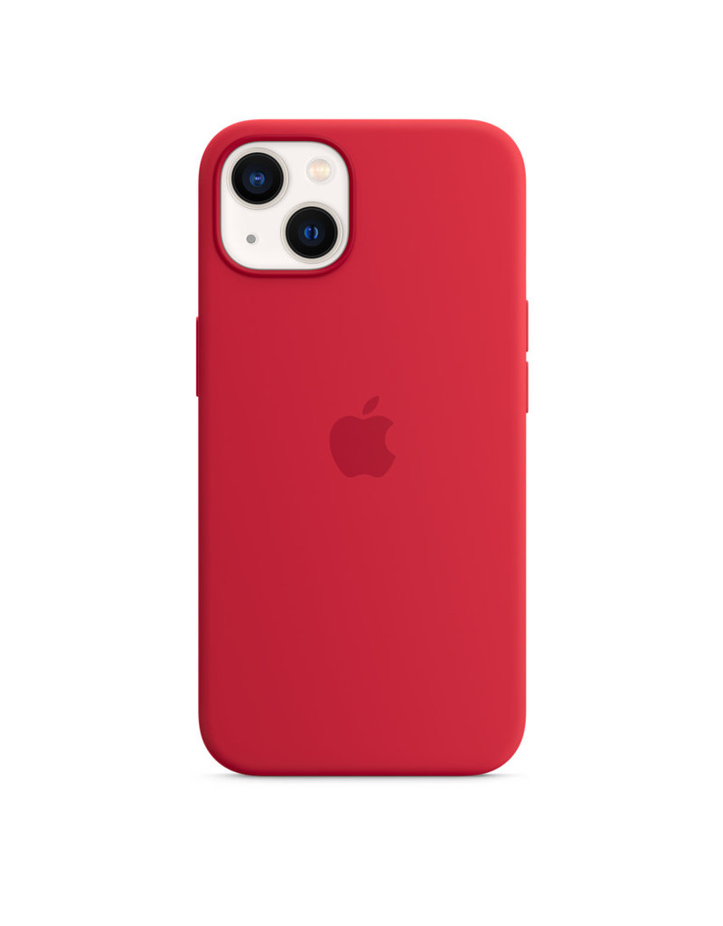 Apple Apple IPhone 13 Silicone Case with MagSafe - Product Red