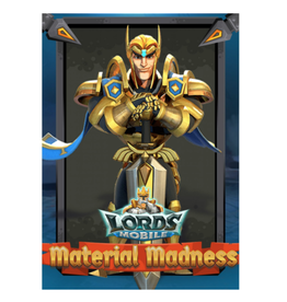 Lords Mobile Lords Mobile Material Madness Gift Crad