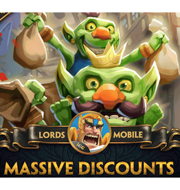 Lords Mobile Lords Mobile Massive Discounts Gift Card