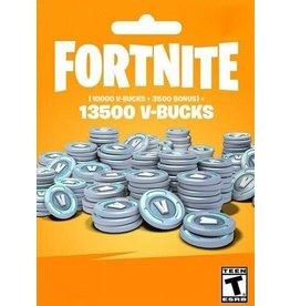 Fortnite Fortnite 13500 V-Bucks Gift Crad
