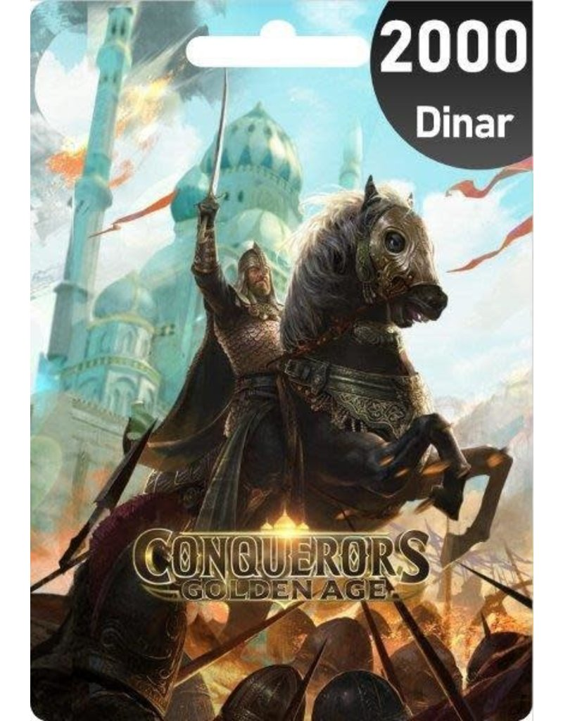 Conquerors Conquerors 2000 Dinar Gift Card