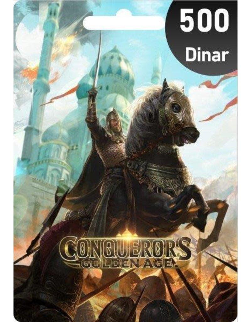 Conquerors Conquerors 500 Dinar Gift Card