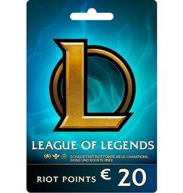 League of Legends League of Legends €20.00 Gift Card