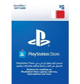 PlayStation PlayStation Network Bahrain $5.00 Gift Card