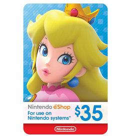 Nintendo US Nintendo US $35.00 Gift Card