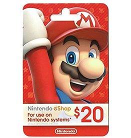 Nintendo US Nintendo US $20.00 Gift Card