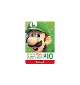 Nintendo US Nintendo US $10.00 Gift Card