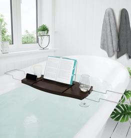 Umbra Aquala Bathtub Caddy-Walnut