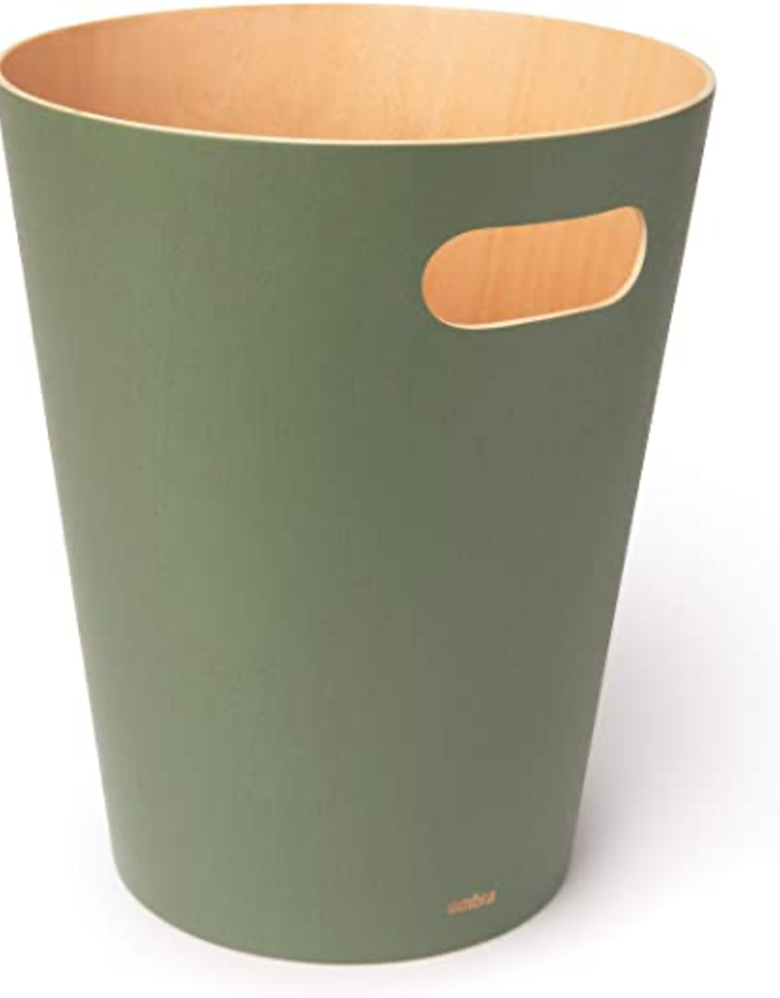 Umbra Umbra Woodrow Waste Bin-Spruce