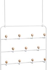 Umbra Umbra Estique Organizer-White With Hooks