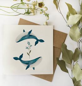 Fla Fla Fla Fla Whales Card