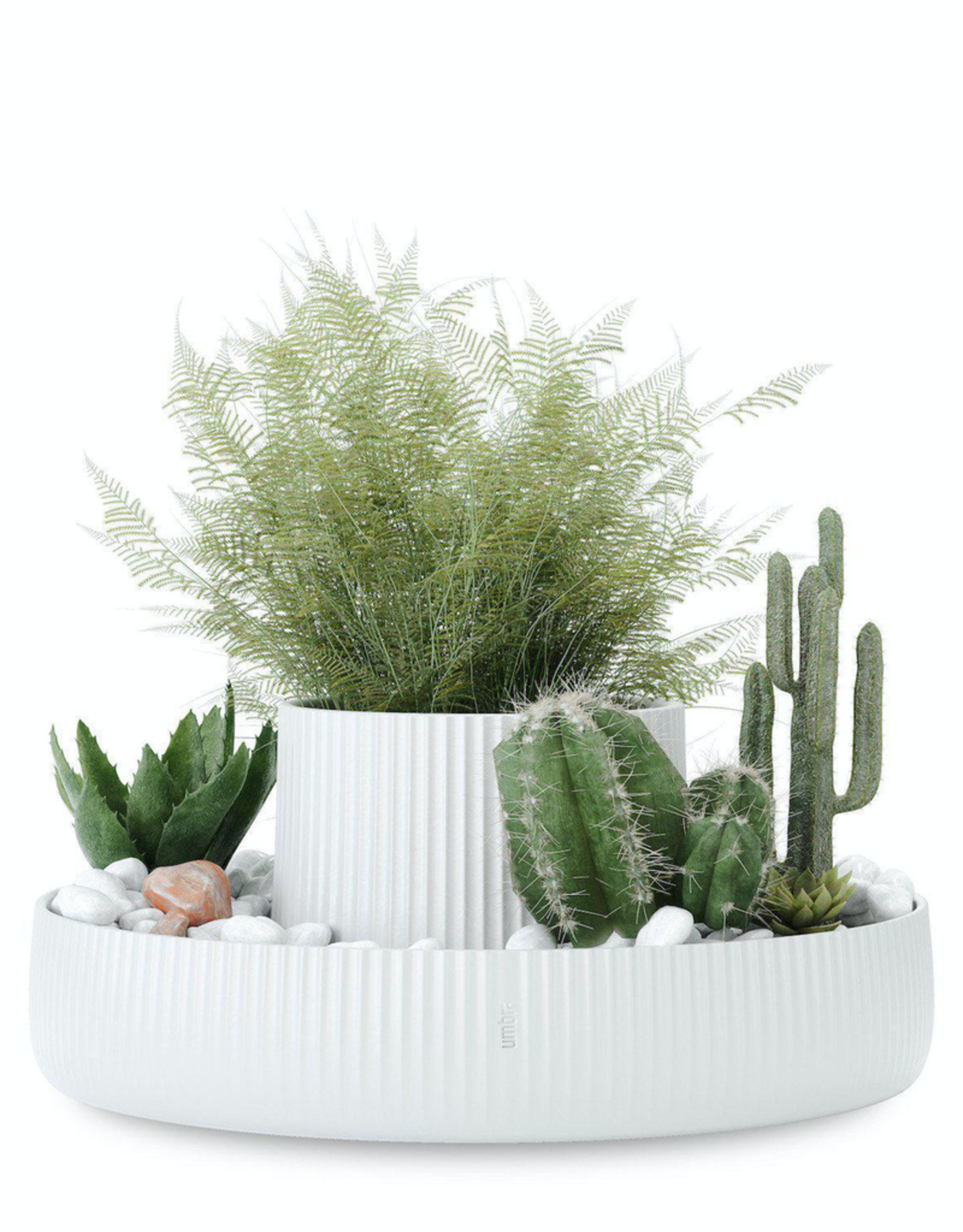 Umbra Umbra Fountain Planter-White
