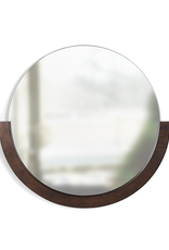 Umbra Umbra Mira Mirror-Walnut-Large