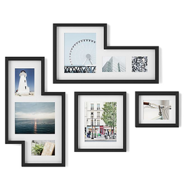 Umbra Umbra Mingle Gallery Frames-Black-Set 4