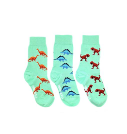 Friday Sock Co Dino Kids Socks-Age 2-4