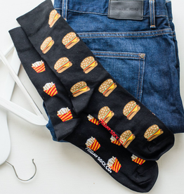 Friday Sock Co Fries And Burger Socks