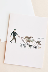 Red Cap Cards Red Cap Cards Dog Walker Boxed Cards-BEC1430Boxed