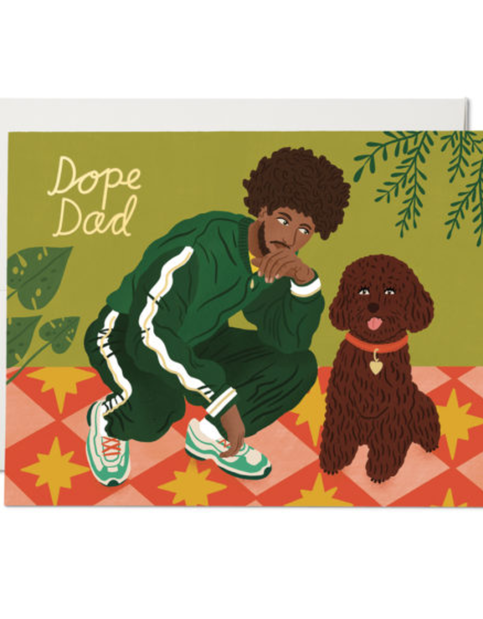 Red Cap Cards Red Cap Cards Dope Dad Card-BOD2191