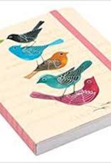 Raincoast Books Raincoast Books Avian Friends Embroidered Pocket Planner