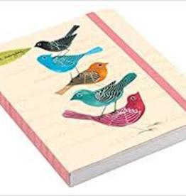 Raincoast Books Avian Friends Embroidered Pocket Planner
