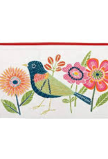 Raincoast Books Raincoast Books Avian Friends Embroidered Pouch