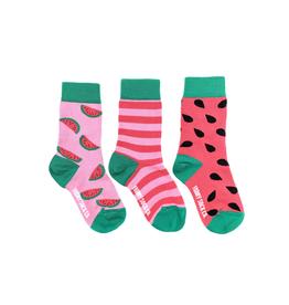 Friday Sock Co Friday Sock Co Watermelon Kids Socks-Age 8-12
