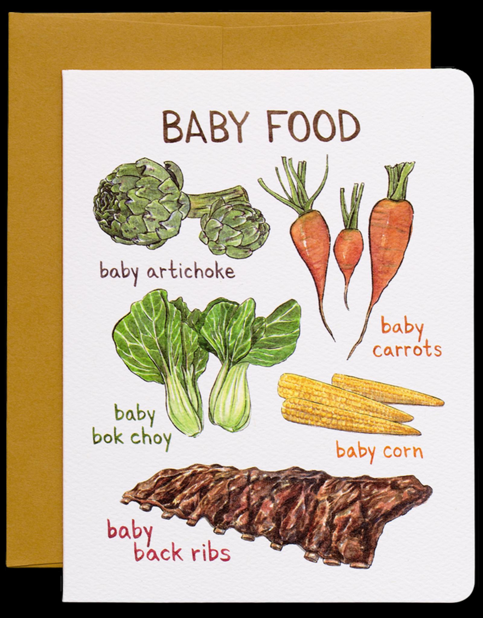 Gotamago Gotamago Baby Food Card
