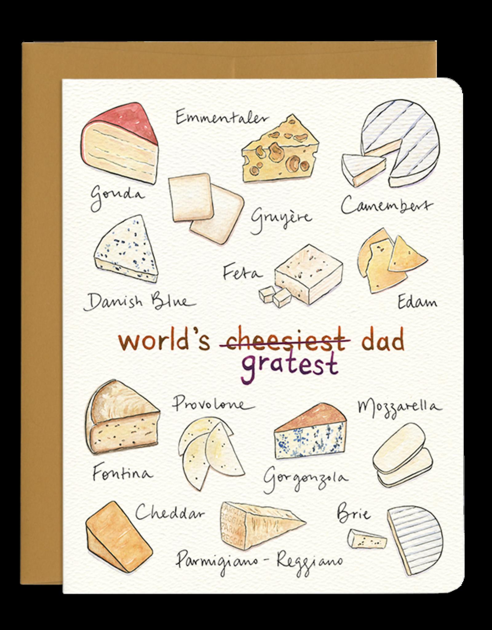 Gotamago Gotamago Cheesy Dad Card