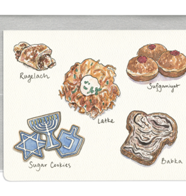 Gotamago Hanukkah Treats Card - Set of 8