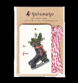 Gotamago Gotamago Hockey Skate Tags - Set of 10