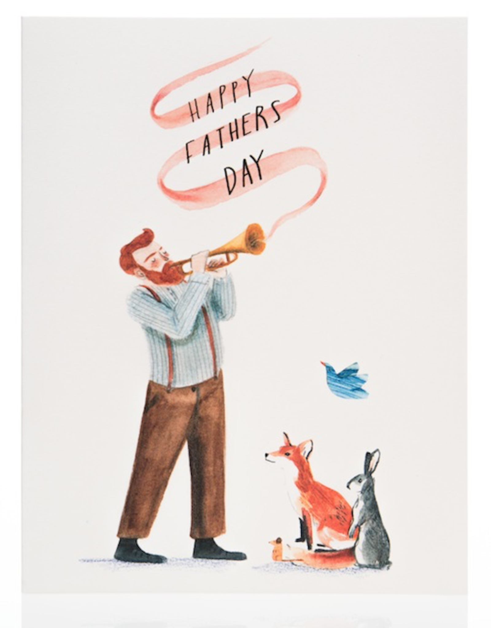 Red Cap Cards Red Cap Cards Fathers Day Trumpet Card-LIZ1607