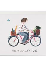 Red Cap Cards Red Cap Cards Mothers Bike Card-LIZ1606