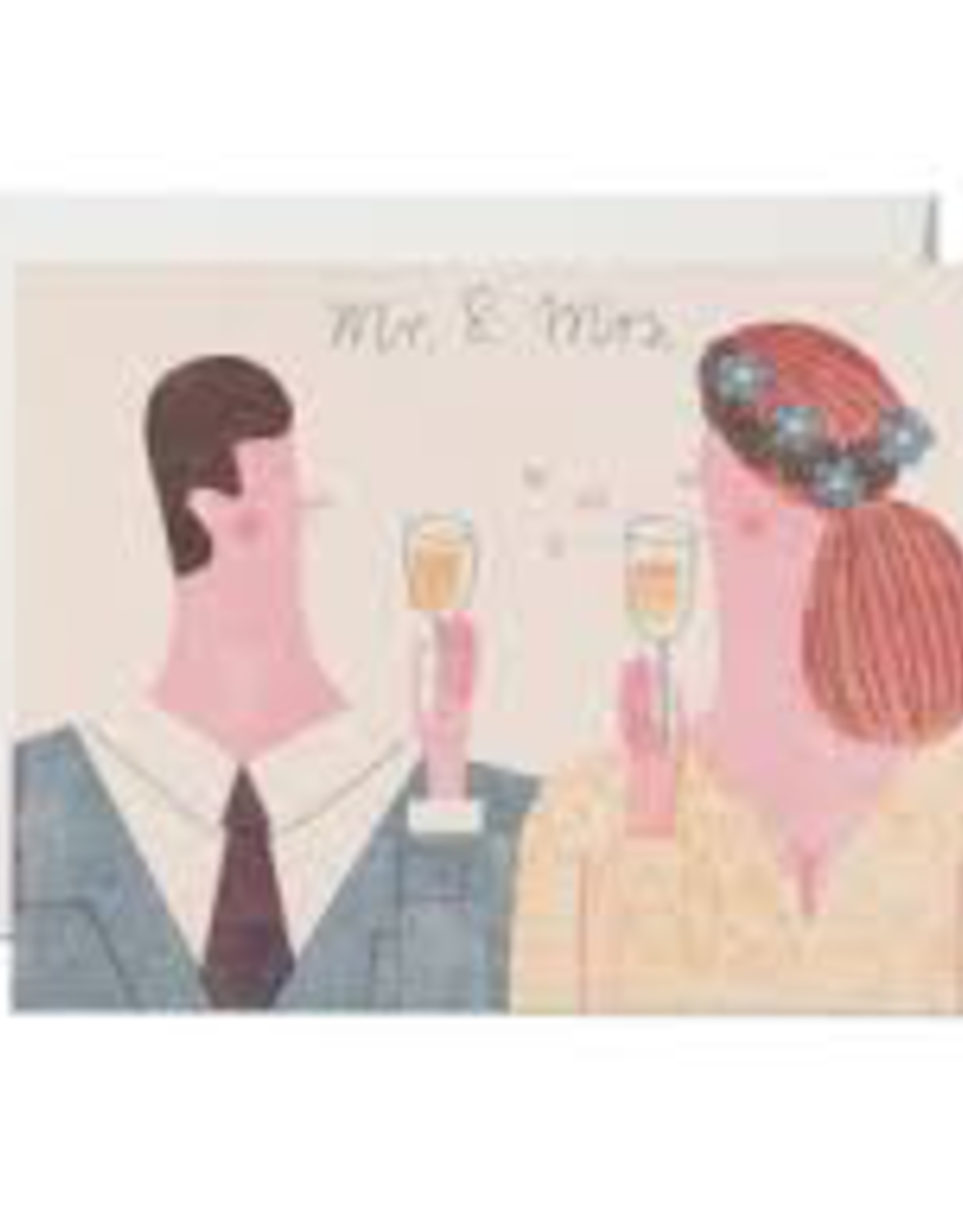 Red Cap Cards Red Cap Cards Mr And Mrs Card-DZI1684