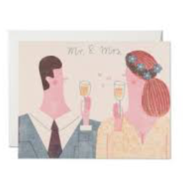 Red Cap Cards Mr And Mrs Card