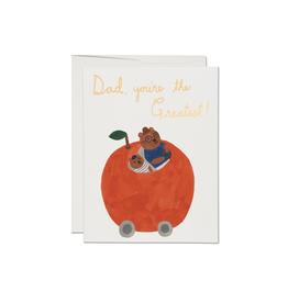 Red Cap Cards Orange Dad Card Card