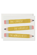 Red Cap Cards Red Cap Cards Pencils Friendship Card-PUG2204