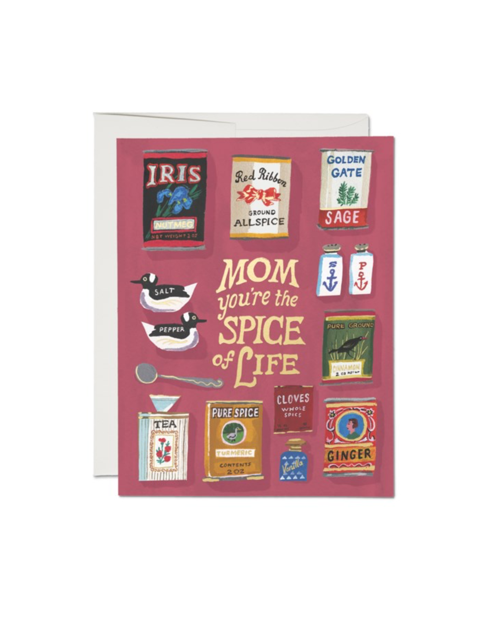 Red Cap Cards Red Cap Cards Spicy Mom Card-KRL2168