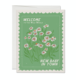 Red Cap Cards Wild World Baby Card